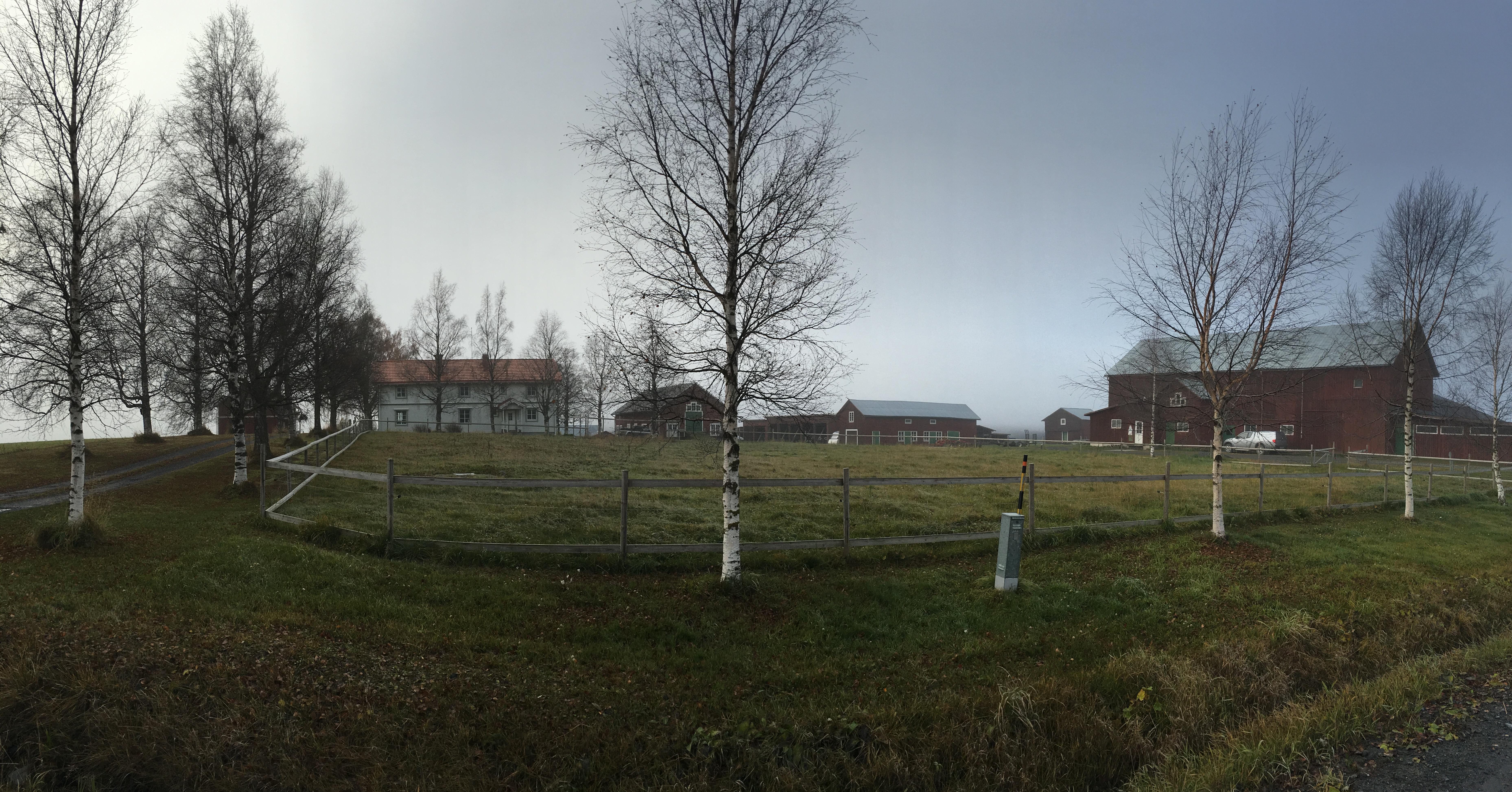 Lägda gård